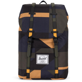 Herschel Retreat Zaino beige/blu
